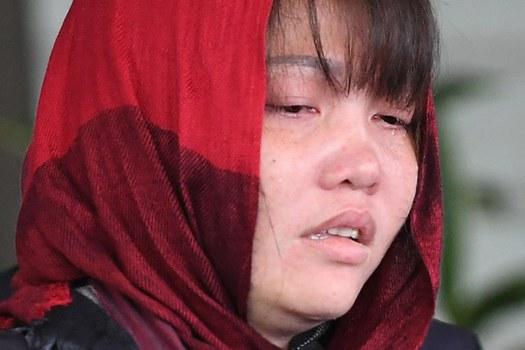 Cô Đoàn thị Hương sau phiên tòa hôm 14/3/2019