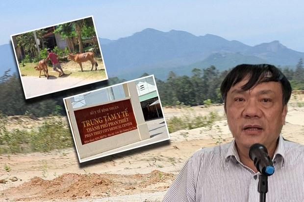 Nhiều cán bộ tỉnh Quảng Ngãi, Bình Thuận bị kỷ luật