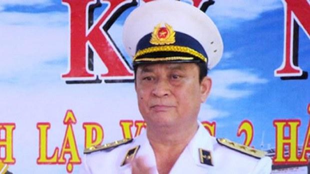 Cựu đô đốc Nguyễn Văn Hiến.