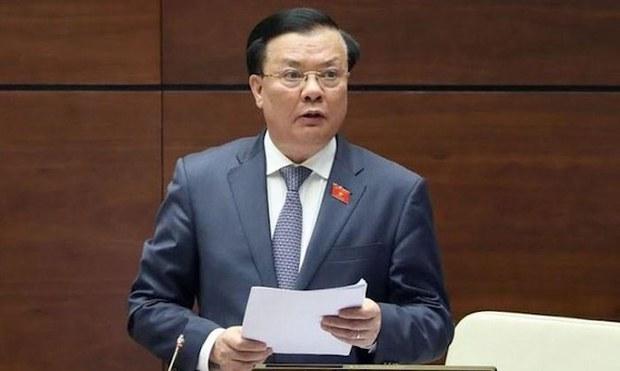 Bộ trưởng Tài chính Đinh Tiến Dũng được phân công làm Bí thư Hà Nội