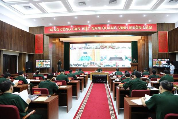 Bộ Quốc phòng Việt Nam tiến hành giải pháp khẩn phòng chống COVID-19