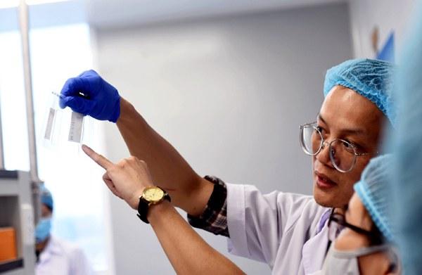 Hoàn thành 50% giai đoạn ba thử nghiệm vắc xin Nano Covax