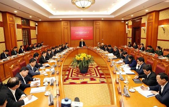 Phiên họp thứ 17 của Ban Chỉ đạo Trung ương về phòng, chống tham nhũng ở Hà Nội hôm 15/1/2020
