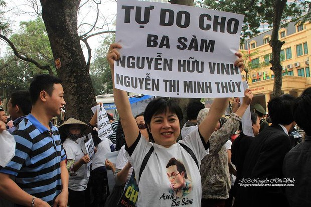 Bà Nguyễn Thúy Hạnh, người tự ứng cử Quốc hội năm 2016, bị bắt giữ tại Hà Nội