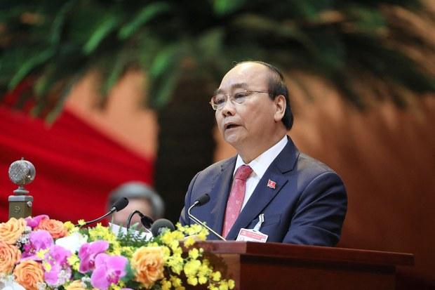 Ông Nguyễn Xuân Phúc là ứng viên được giới thiệu để bầu chức danh Chủ tịch nước