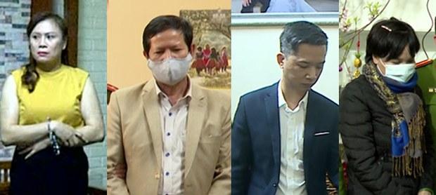 Công an bắt giữ nguyên Phó Giám đốc Sở Y tế tỉnh Sơn La