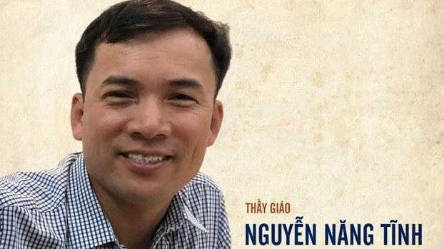 Thầy giáo Nguyễn Năng Tĩnh