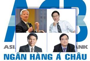 Các ông Trần Xuân Giá, ông Trịnh Kim Quang, ông Phạm Trung Cang, và ông Lê Vũ Kỳ  (từ trái sang phải-trên xuống)