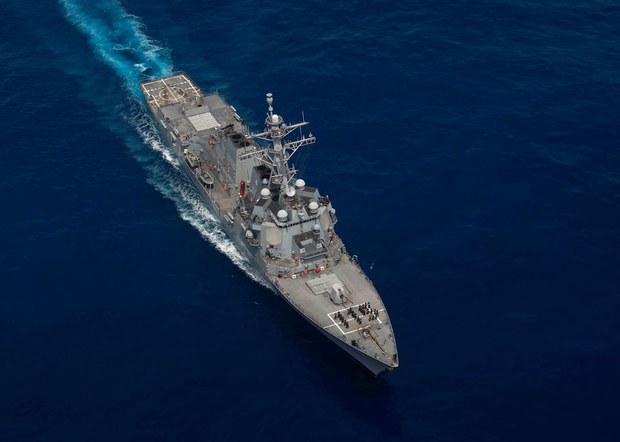 Hoa Kỳ điều tàu chiến đến Biển Đông, Philippines lên án Trung Quốc điều tàu cá đến đá Ba Đầu
