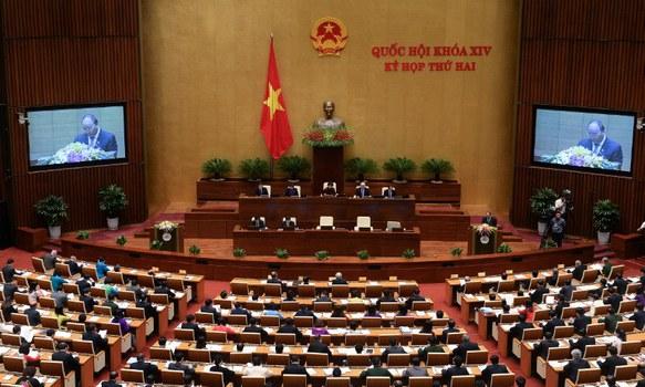 Một kỳ họp Quốc hội trước đây tại Hà Nội, ảnh minh họa.