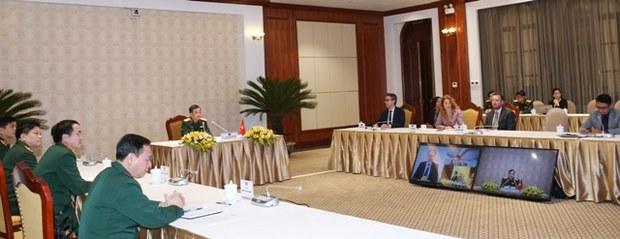 Đối thoại Quốc phòng an ninh Việt Nam - EU lần 2