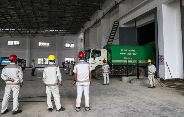 Nhà máy đốt rác 7.000 tỷ đồng ở Sóc Sơn vận hành thử nghiệm