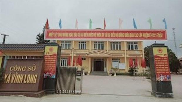 Công sở xã Vinh Long, nơi ông Hà Nguyên Phấn đang giữ chức chủ tịch UBND xã Vĩnh Long. Nguồn: vinhloc.thanhhoa.gov.vn