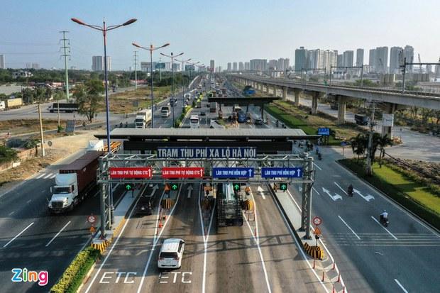 BOT xa lộ Hà Nội thu phí trở lại dự án mở rộng đường