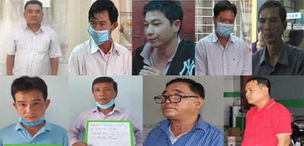 Bắt giam và khởi tố ba cán bộ Chị Cụcthuế tỉnh An Giang