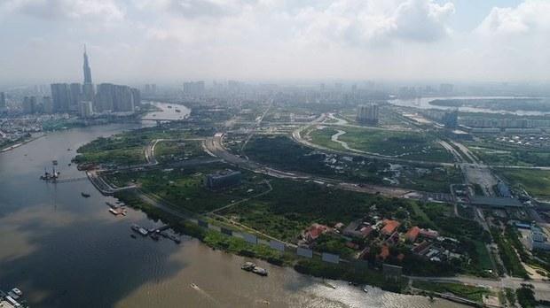 Ba lô đất lớn ở Khu đô thị Thủ Thiêm sẽ được đấu giá