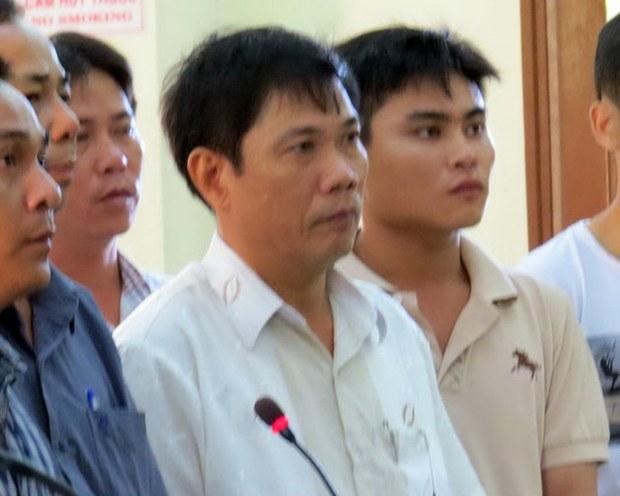 Ông Lê Đức Hoàn, phó trưởng Công an TP Tuy Hòa