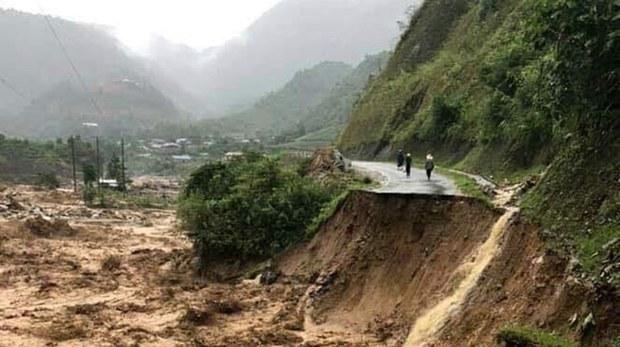 Tuyên Quang: Sạt lở đất khiến ba trẻ em tử vong