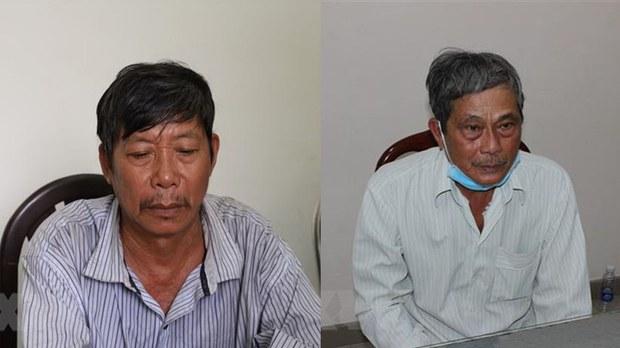 Bắt giữ hai người trốn truy nã hơn 40 năm
