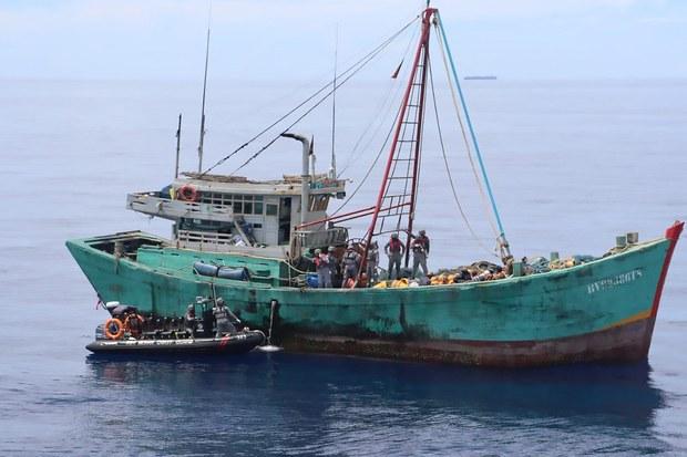 Mỹ hỗ trợ Indonesia xây dựng trung tâm huấn luyện cảnh sát biển ở Natuna