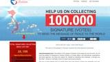 Thình nguyện thư của người Việt khắp nơi gửi cho Tổng Thống Hoa Kỳ Barack Obama