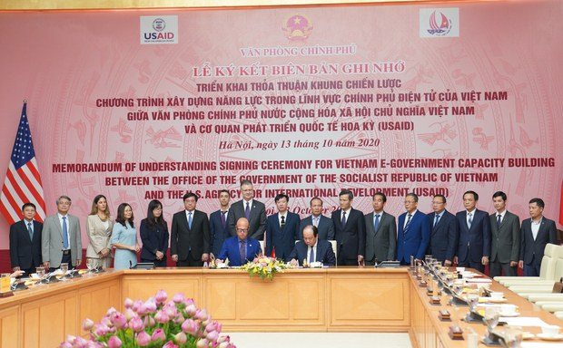 USAID-Văn phòng Chính phủ ký MOU