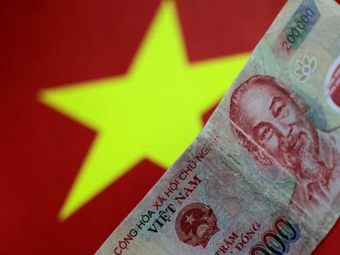Hình minh hoạ. Tiền đồng của Việt Nam