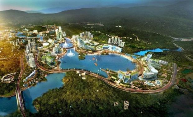 4.300ha trong khu Kinh tế Vân Đồn dành cho sân golf, casino và resort