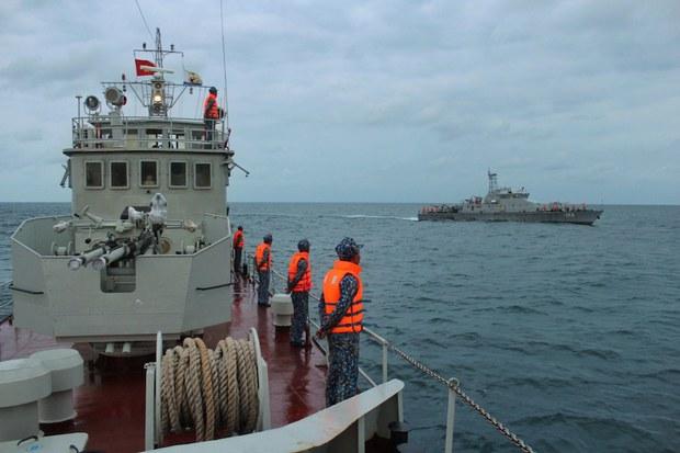 Hải quân Việt Nam và Campuchia tuần tra chung thường niên lần thứ 62
