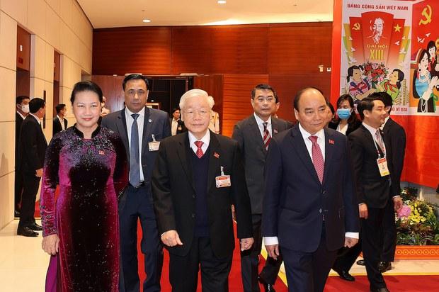 Đảng Cộng sản Việt Nam khởi sự Đại hội 13 có đại biểu bị kỷ luật