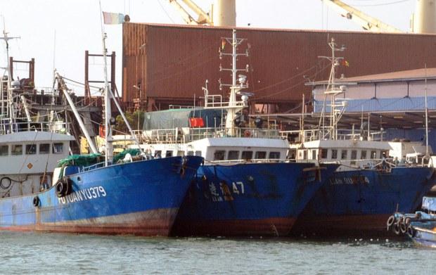 Kiểm ngư Việt Nam đuổi hai tàu cá Trung Quốc
