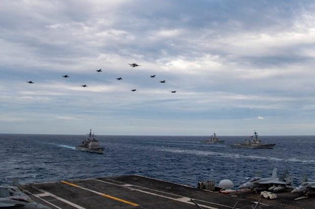 Việt Nam lên tiếng về hoạt động mới nhất của chiến hạm Mỹ tại Biển Đông