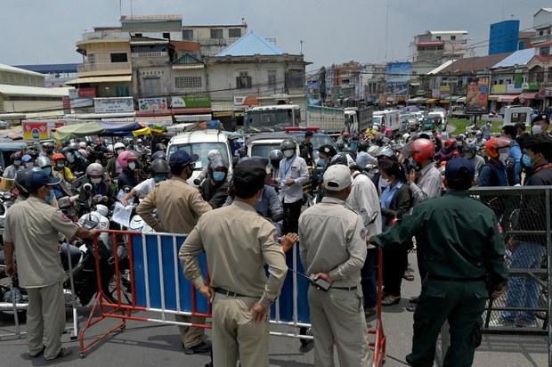 Việt Nam quản lý chặt biên giới Tây Nam ngừa COVID-19