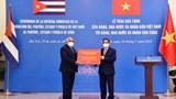 Việt Nam tặng Cuba 12.000 tấn gạo trong dịch COVID-19