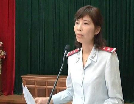 Bà Nguyễn Thị Kim Anh, Phó trưởng phòng Chống tham nhũng – Thanh tra Bộ Xây dựng. (Ảnh minh họa chụp trước đây)