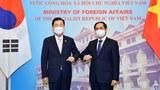 Việt Nam và Hàn Quốc thảo luận việc nâng cấp quan hệ ngoại giao lên Đối tác Chiến lược Toàn diện