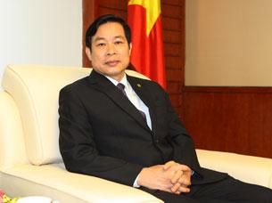 Bộ trưởng Thông tin Truyền thông Nguyễn Bắc Son, ảnh chụp trước đây tại Hà Nội.