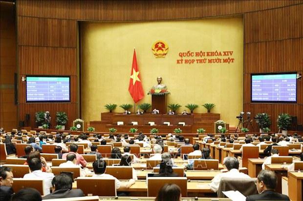 Quốc hội Việt Nam tiếp tục miễn nhiệm nhân sự Chính phủ cũ và bầu nhân sự mới