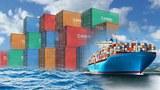 Hàng xuất khẩu rời Việt Nam