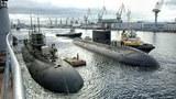 Tàu ngầm lớp Kilo thuộc dự án 636 ở St. Petersburg, Nga chuẩn bị giao cho Việt Nam