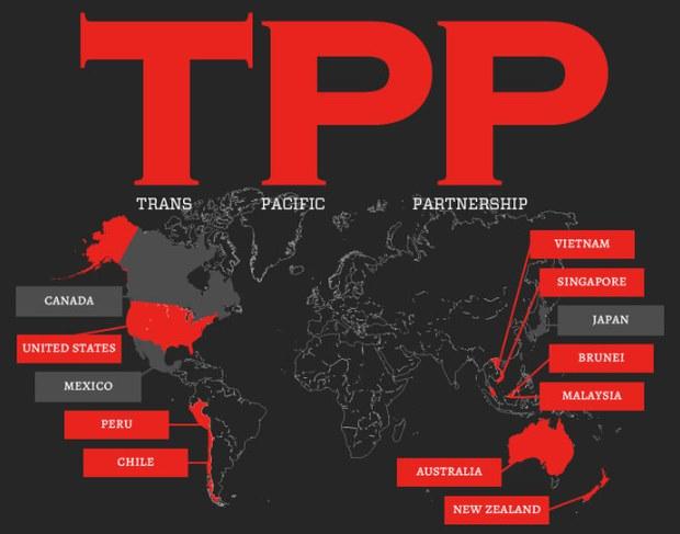 Hiệp định đối tác chiến lược xuyên Thái Bình Dương TPP