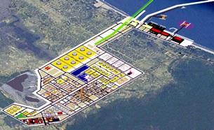 Mô hình Nhà máy Lọc hóa dầu Nghi Sơn.