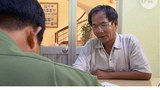 Ô Huỳnh Trương Ca tại cơ quan công an