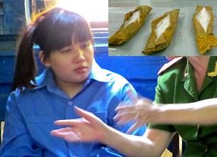 3,1kg ma túy được nữ sinh viên Preyanooch Phuttharaksa (Thái Lan)