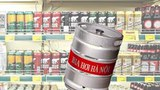 Bia nội, bia ngoại và bia hơi...(Ảnh minh hoạ)