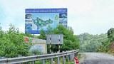 Bảng quảng cáo dự án Khu Du lịch Nghỉ dưỡng World Shine trên núi Hải Vân.