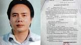 Ông Trần Anh Tuấn và lệnh khám xét khẩn cấp của công an.
