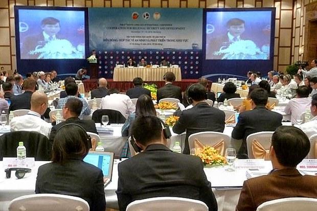 Hội thảo quốc tế về Biển Đông, diễn ra ngày 17 và 18, 2014 tại Đà nẵng.