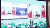 Nhóm công tác quan hệ quốc phòng Việt-Pháp họp trực tuyến