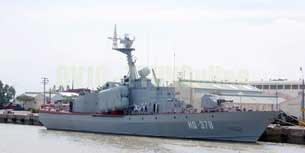 Tàu HQ378 của Hải quân Việt Nam.